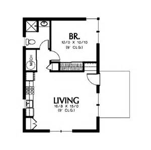 Home Plan Design 600 Sq Ft Modern Style House Plan 1 Beds 1 Baths 600 Sq Ft Plan