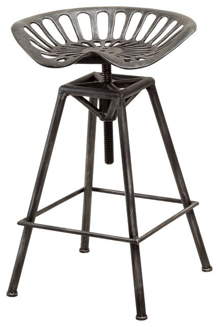 industrial design bar stools charlie industrial metal design tractor seat bar stool