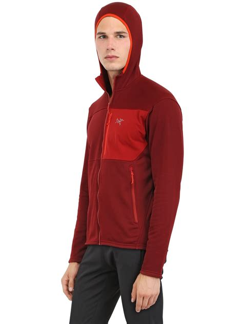 Jaket Sweter Hoodie Eiger 5 lyst arc teryx fortrez hoody stretch fleece sweatshirt
