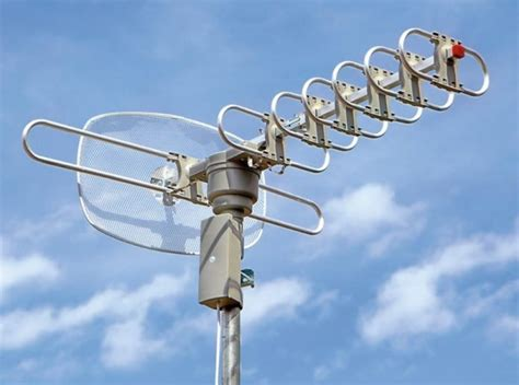boost  outdoor tv antenna signal improve