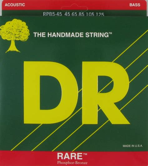 Dr Bass Accoustic dr strings acoustic bass phosphor bronze 5 string