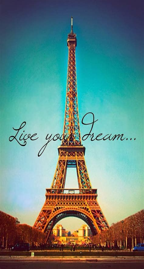 wallpaper for iphone 5 paris live your dream paris eiffel tower parallax iphone 6 plus