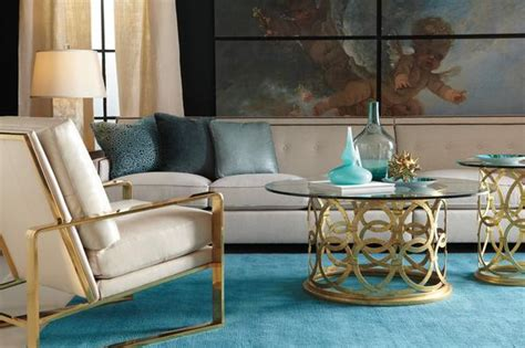 dorwin amber living room bernhardt furniture layout midas touch incorporate the luxury of gold in your decor