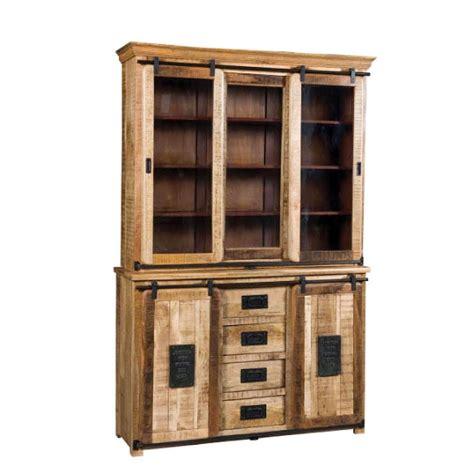 credenza vendita credenza alta industrial ferro e legno di seesham in
