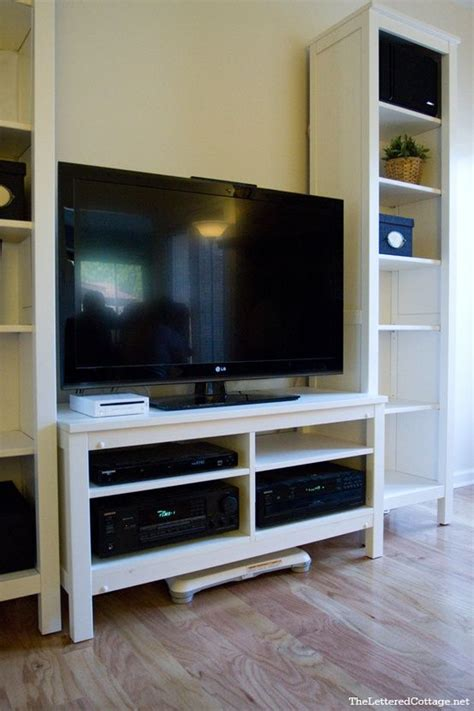 ikea tv cabinet hack ikea hack hemnes tv stand decorating ideas pinterest