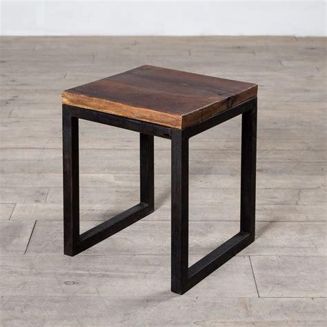 wood side table best 25 metal side table ideas on