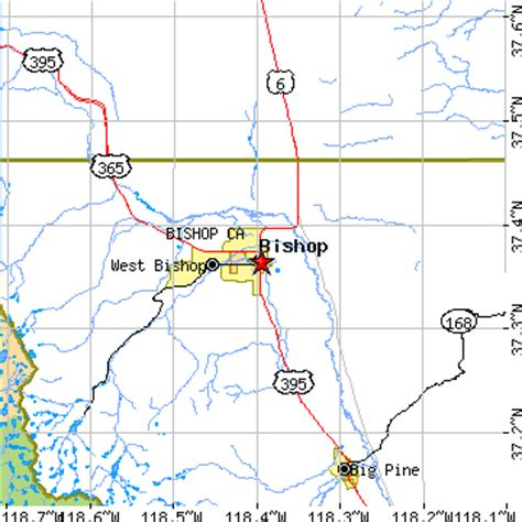 california map bishop bishop california ca population data races housing