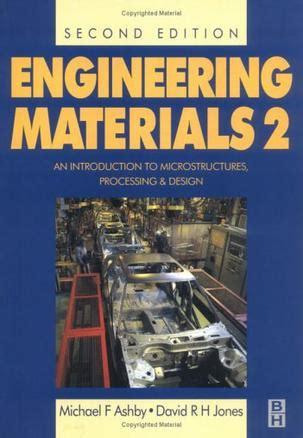 engineering materials 2 engineering materials vol 2 michael f ashby david r