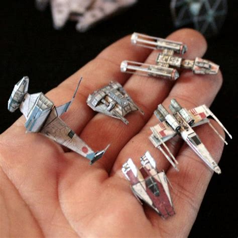 Starwars Papercraft - wars papercraft miniature gaming starships
