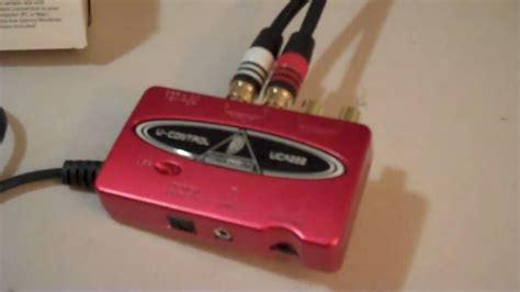 Sound Card Recording Behringer Uca222 Usb behringer uca222 review