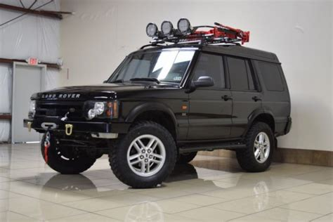 custom land rover discovery custom lifted land rover discovery 2 winch one owner