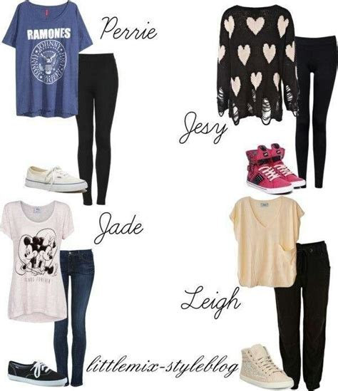 mix styles little mix fashion style maggie things pinterest