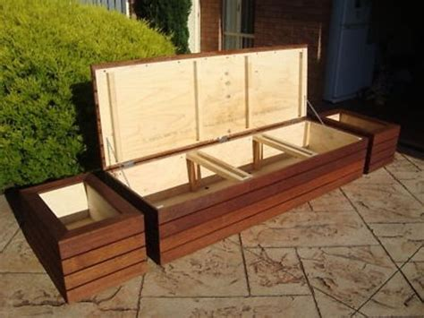 diy outdoor storage bench seat amazing outdoor storage seating build wooden bench seat