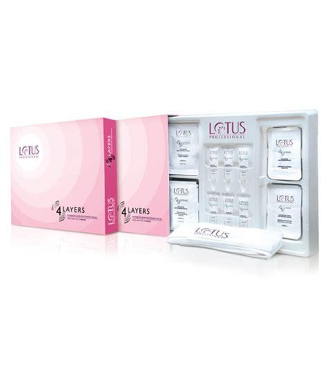 lotus professional skin care products lotus professional 4 layer skin whitening kit gm