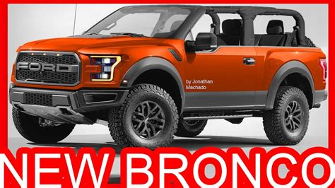 2020 Ford Bronco With Removable Top by Photoshop New 2018 Ford Bronco Air Roof F 150 Removable