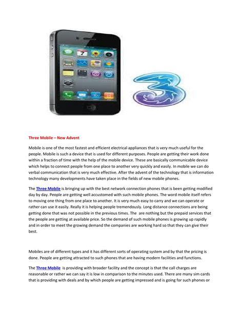 issuu mobile three mobile by three mobile issuu