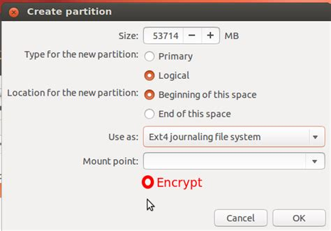 ubuntu manual encrypted lvm the state of manual lvm and full disk encryption