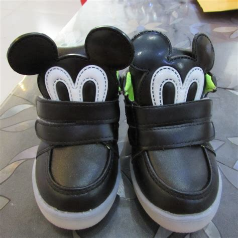Shoes Mickey Led led shoes boys mickey light up shoes chaussure