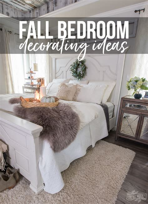 this cozy bedroom ideas for small rooms will make it feel cozy amp easy fall bedroom decorating ideas the diy mommy 556 | Fall Bedroom Decorating Ideas Pin