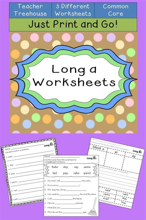 ai spelling pattern long a worksheets silent e spelling words and spelling