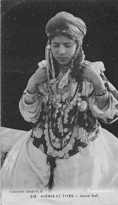Carte postale algerie scenes et types jeune mauresque papier