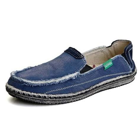 converse loafers blue casual denim style converse slip on shoe loafer