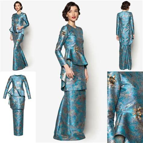 Kebaya Set Prada 03 fesyen baju raya terkini 2016 fesyen trend terkini baju kurung kebaya and abayas