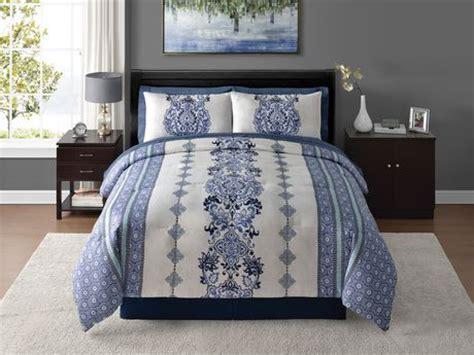home trends comforter home trends 8 piece bed in a bag bedding set walmart ca