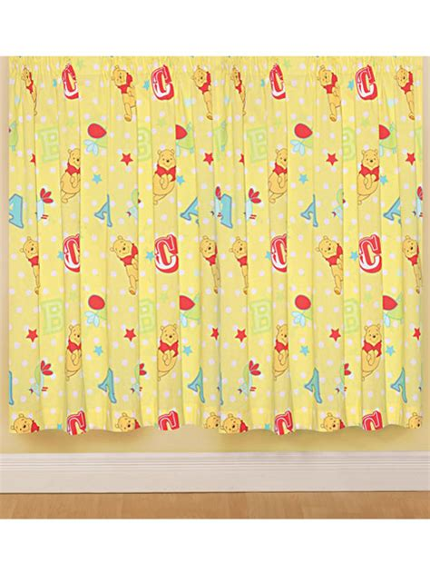 winnie the pooh starry night curtains winnie the pooh blinds