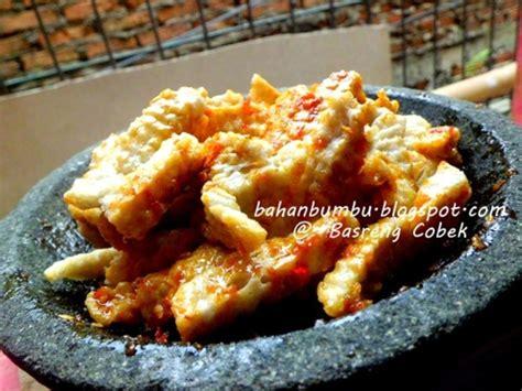 resep basreng bakso goreng sambal cobek pedas bahan