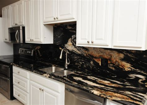 Titanium Granite Countertops With White Cabinets by Titanium Granite Kitchen Project Details And Pictures