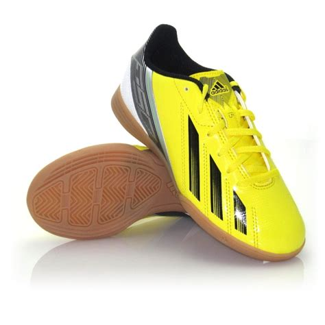 adidas f5 football shoes adidas f5 junior boys indoor soccer shoes yellow black