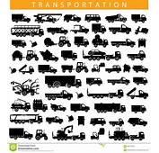 Vector Transportation Pictogram Stock