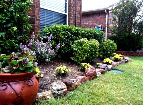 Best Rock Landscaping Front Yard Design Ideas For Country Country Backyard Landscaping Ideas
