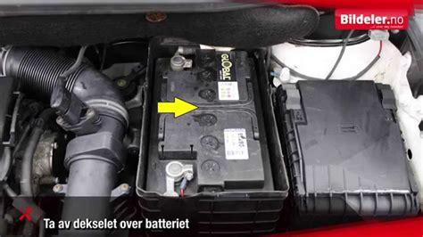 lade a batterie hvordan lade et bilbatteri