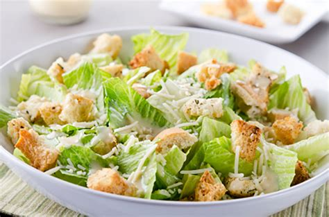salads recipes caesar salad recipe dishmaps