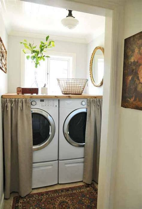 washer and dryer covers saves them from getting scratched up how to projects pinterest skirted washer and dryer cottage laundry room