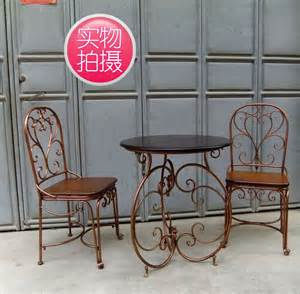 Cheap Outside Table And Chairs Cheap Continental Iron Small Coffee Table And Chairs Cafe