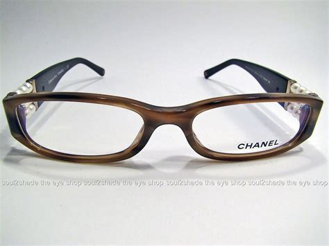 new authentic chanel 3155h perle eyeglasses frame rx
