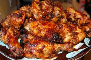 molasses barbecued chicken it s not easy eating green