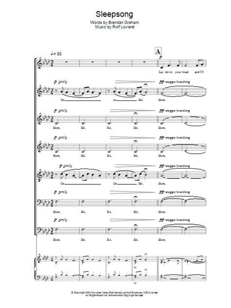 secret garden nocturne 2 free piano sheet music learn secret garden nocturne free piano sheet music sleepsong