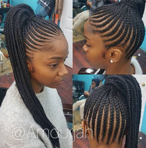 show me braided weave flawless braided pony via amourjah black hair information