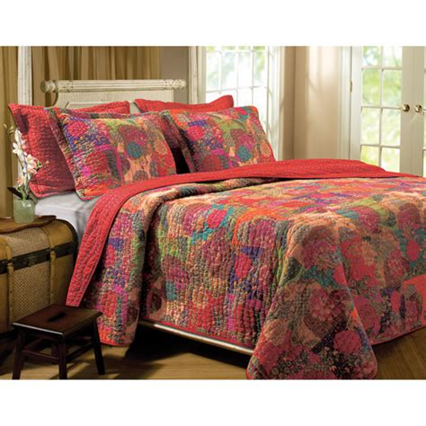 Walmart Bedspreads And Quilts by Global Trends Josie Bedding Quilt Set Walmart