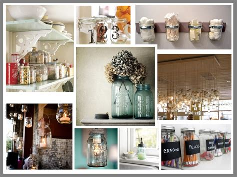 Jar Home Decor by