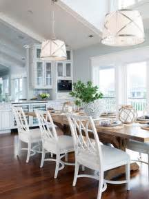 Figure 8 island beach style dining room wilmington by amy