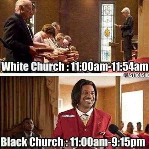 Black Church Memes - white church and black church