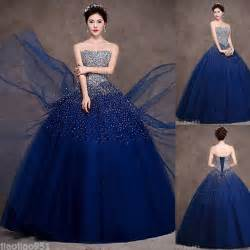 new royal blue quinceanera dresses formal pageant ball