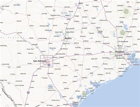 map of san antonio texas and surrounding cities map of southeast texas cities cakeandbloom