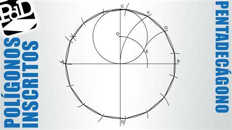 figuras geometricas de 20 lados pentadec 225 gono inscrito en una circunferencia pol 237 gono de