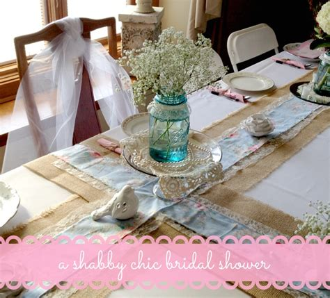 the blue eyed dove a shabby chic bridal shower part 1
